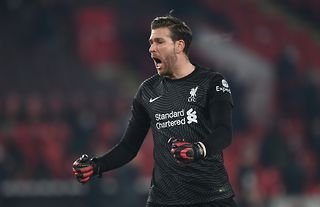 Adrian in action for Liverpool amid reports that he could return to Spain