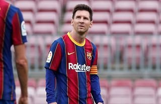 Lionel Messi was at his brilliant best in 2020/21 for Barcelona