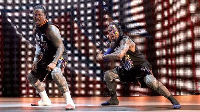 The Usos in 2015