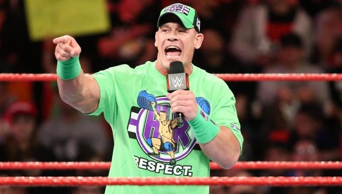 Cena landed himself in hot water on Tuesday