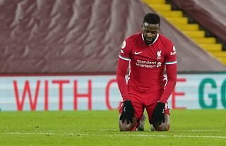 Divock Origi in action for Liverpool amid speculation over his future