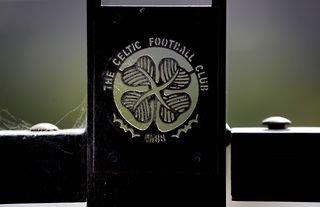 A general view of the Celtic badge