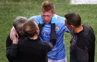 You have to feel for Kevin De Bruyne