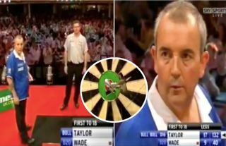 Phil Taylor won the World Matchplay title in 2008 thanks to one of the best checkouts ever