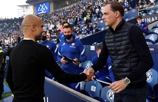 Guardiola and Tuchel meet in the Champions League final.