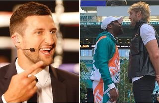 Carl Froch is worried for Floyd Mayweather's legacy as he believes Logan Paul has a chance
