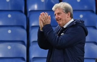 Roy Hodgson applauding the Crystal Palace fans amid speculation over his future