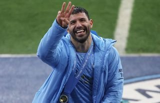 Sergio Aguero was incredibly generous after leaving the club