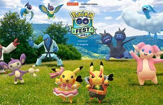 Pokemon Go Fest is returning on 17th and 18th July 2021