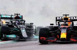 Max Verstappen leads Lewis Hamilton in the Driver's Championship by one point heading into Azerbaijan