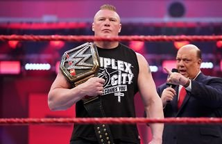 Lesnar's WWE comeback was teased on RAW this week