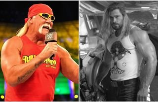 Hogan responds to Hemsworth's incredible physique ahead of WWE biopic