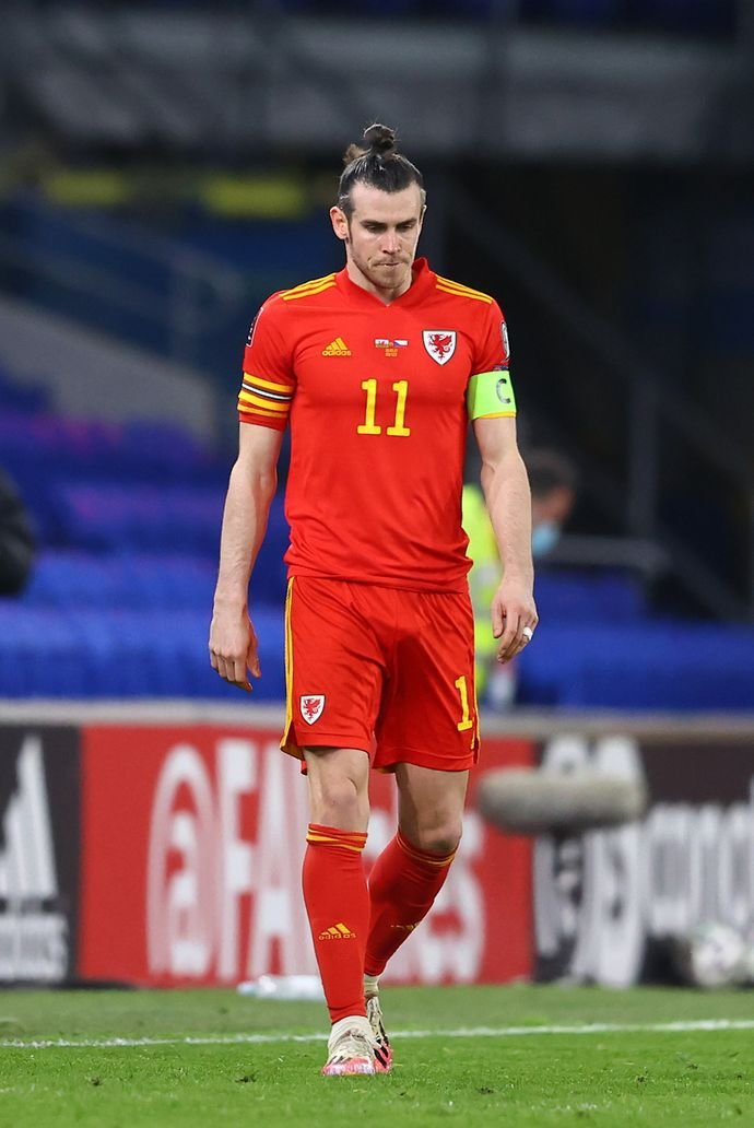 Bale with Wales