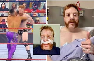 WWE Superstar Sheamus shares post-surgery photos after breaking nose on RAW this week