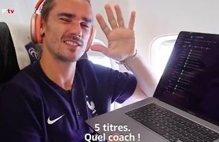 Antoine Griezmann loves a bit of Football Manager!