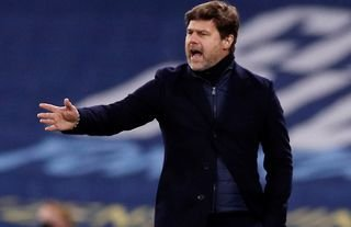 Mauricio Pochettino on the sidelines as he is reportedly set to stay at PSG amid Tottenham links