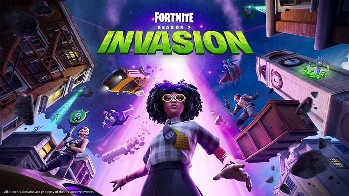 The latest season of Fortnite is titled Invasion