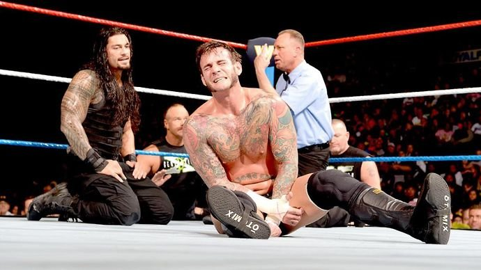 Punk shares incredible praise for Reigns
