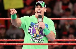 Cena had different gear ready to use if he ever turned heel in WWE