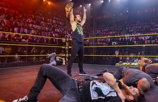 Cole made a statement on NXT this week