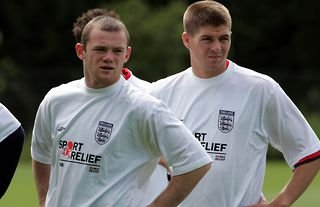 England's Rooney and Gerrard are Man Utd and Liverpool legends.