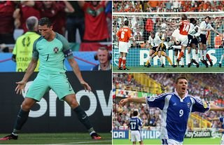Greatest group stage matches at the Euros