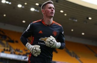 Dean Henderson in action for Man United