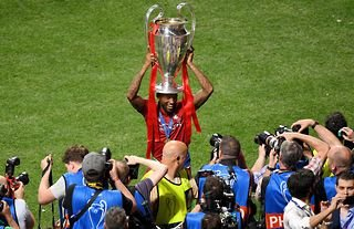 Gini Wijnaldum won the Champions League with Liverpool in 2019