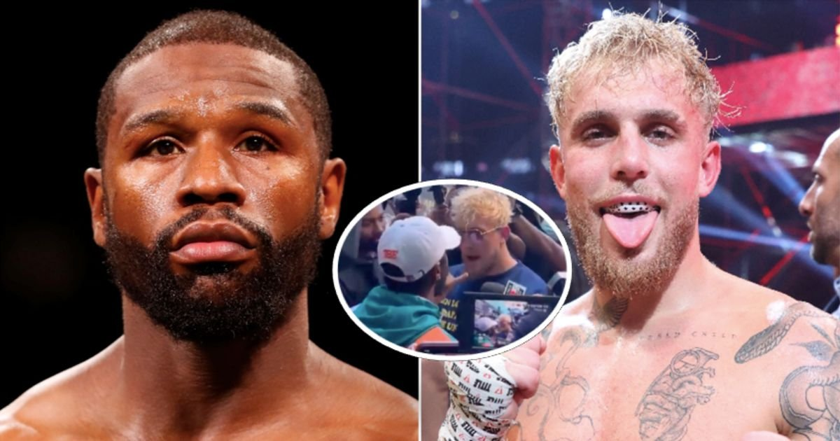 Floyd Mayweather willing to fight Jake Paul on one condition - GIVEMESPORT