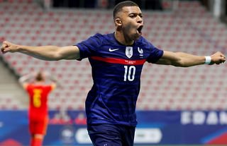 Mbappe could lead France to Euro 2020 glory this summer.