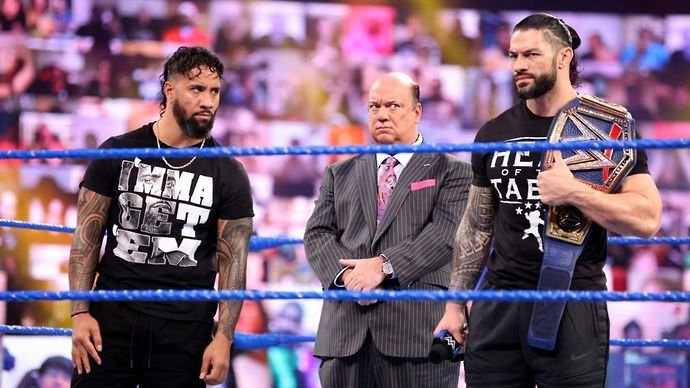 Reigns and Uso clashed for weeks in WWE