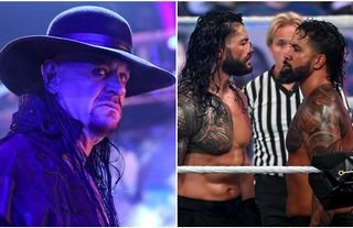 The Undertaker shares huge praise for Reigns & Uso's work in WWE