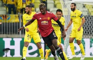 Paul Pogba in action for Manchester United