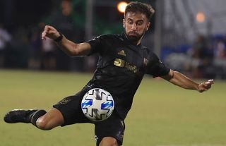 Diego Rossi in action for LAFC