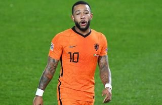 Barcelona have been selling Memphis Depay shirts in their official club shop