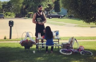 WWE star Rollins went viral for wholesome moment this weekend