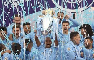 Man City are the reigning Premier League champions.