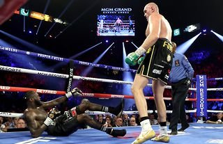 Tyson Fury beat Deontay Wilder the last time they stepped into the ring together.