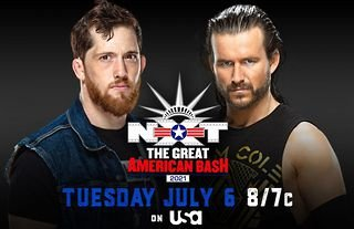 Adam Cole vs Kyle O'Reilly announced for Great American Bash