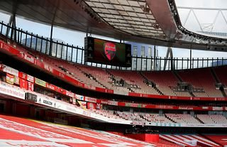 Arsenal's home ground, The Emirates