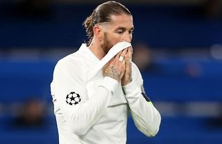Sergio Ramos was in tears during his farewell to Real Madrid