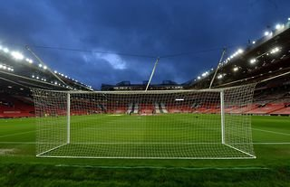 Manchester United's home ground Old Trafford