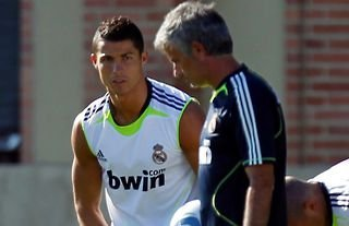 Ronaldo and Mourinho worked together at Real Madrid.