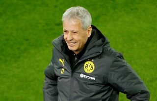Crystal Palace target Lucien Favre smiling