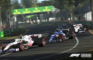 F1 2021 will feature the updated Haas and Alpine liveries.