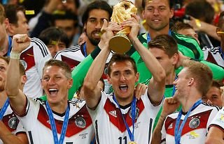 Germany's Klose is the World Cup's all-time record goalscorer.