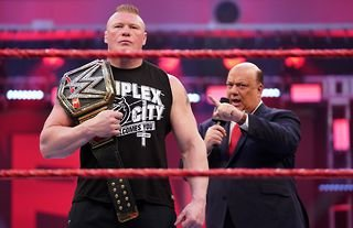 Lesnar is in line for WWE return