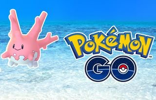 Shiny Corsola will be available for the first time in Pokémon GO