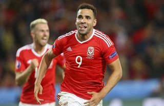 Hal Robson-Kanu scores for Wales