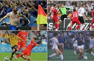 Best European Championships knockout stage matches